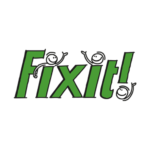 Fixit! logo in circle